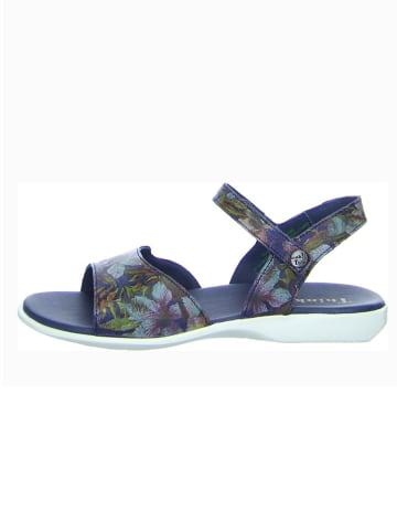 """Think! Skórzane sandały """"Griawi"""" w kolorze niebieskim"""