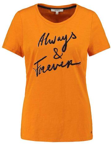 Garcia Koszulka w kolorze pomarańczowym