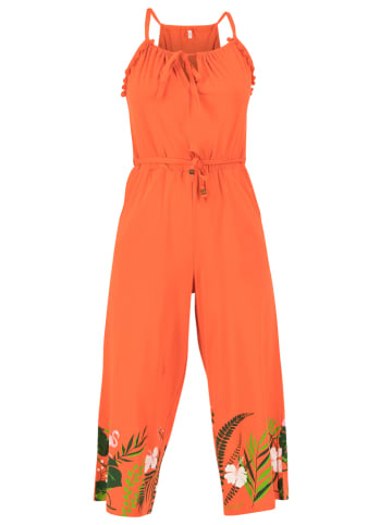 """Blutsgeschwister Jumpsuit """"Out in the green"""" in Orange"""