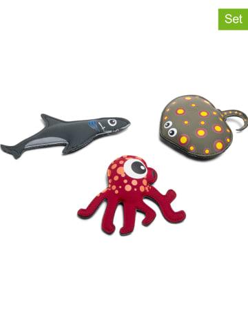 """BuitenSpeel 3-delige set: duikdieren """"Shark, Ray & Octo"""" - vanaf 6 jaar"""