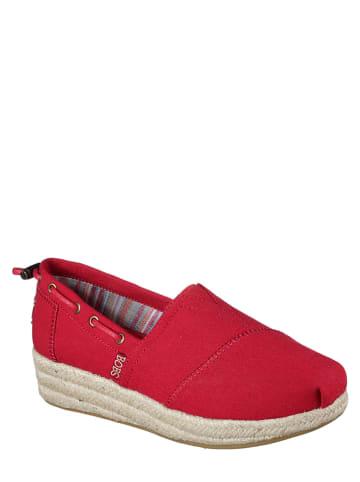 """Skechers Slippersy """"Highlights"""" w kolorze czerwonym"""
