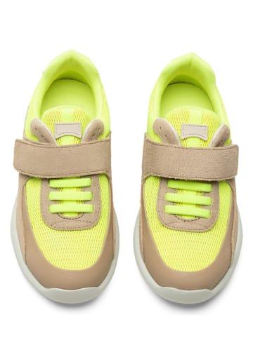 """Camper Sneakers """"Driftie"""" geel/lichtbruin"""