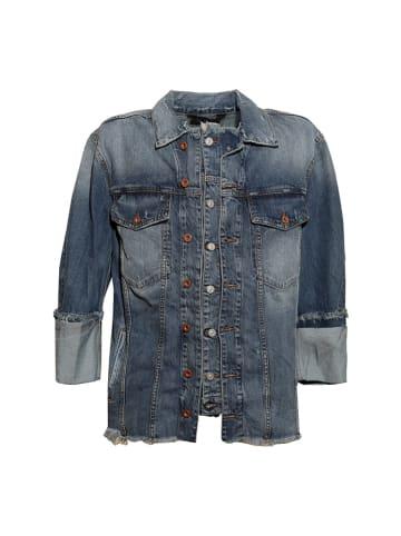 Diesel Clothes Kurtka dżinsowa w kolorze niebieskim