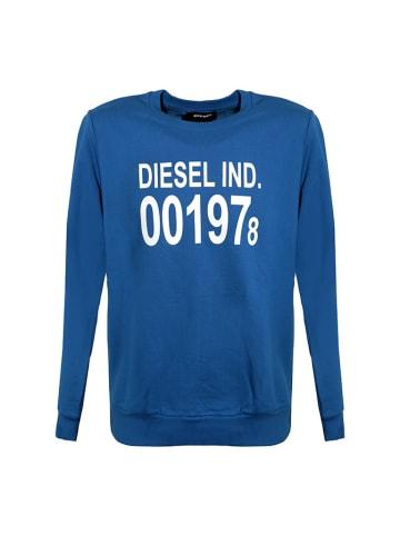 Diesel Clothes Bluza w kolorze niebieskim