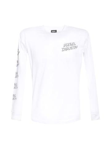 Diesel Clothes Koszulka w kolorze białym
