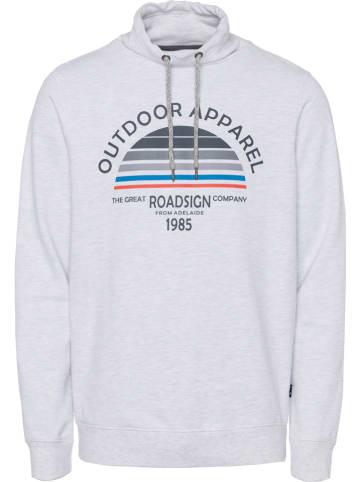Roadsign Bluza w kolorze szarym