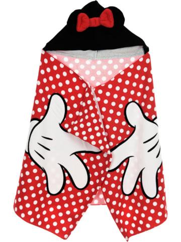 """Disney Minnie Mouse Ręcznik """"Minnie Mouse"""" w kolorze czerwono-czarnym z kapturem - 120 x 80 cm"""