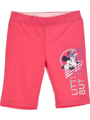 """Disney Minnie Mouse Spodenki kolarskie """"Minnie Mouse"""" w kolorze różowym"""