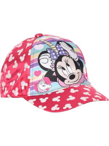 """Disney Minnie Mouse Czapka """"Minnie Mouse"""" w kolorze czerwonym ze wzorem"""
