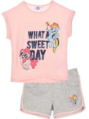 """My Little Pony 2-częściowy zestaw """"My Little Pony"""" w kolorze różowo-szarym"""