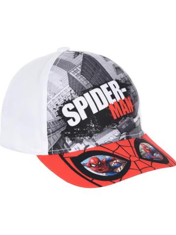 "Spiderman Cap ""Spiderman"" in Rot/ Grau/ Weiß"