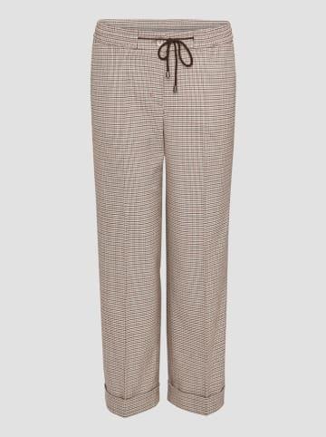 """Someday Spodnie """"Manina"""" w kolorze beżowym"""