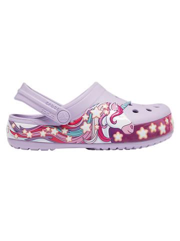 """Crocs Crocs """"Unicorn"""" in Lila"""