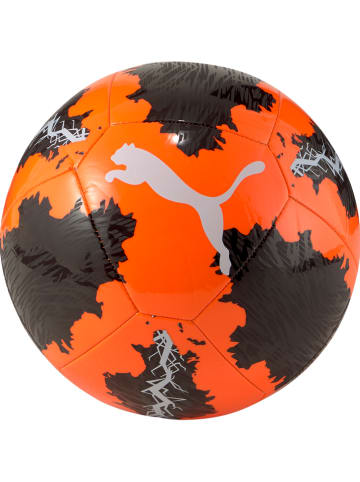 """Puma Piłka nożna """"Big Cat"""" w kolorze pomarańczowo-czarnym"""