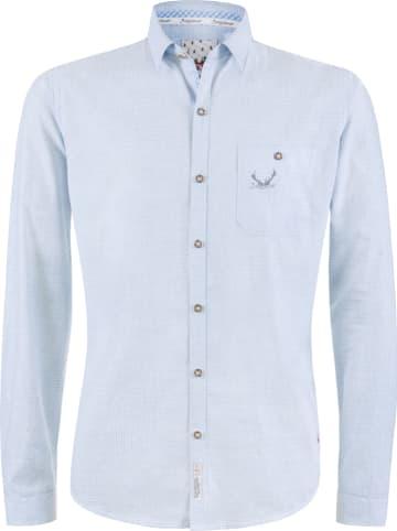 "Stockerpoint Trachtenhemd ""Calvin"" in Hellblau"