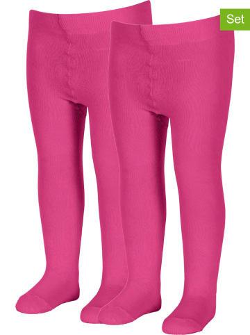 Sterntaler Rajstopy (2 pary) w kolorze różowym