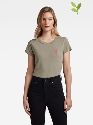 G-Star Koszulka w kolorze khaki