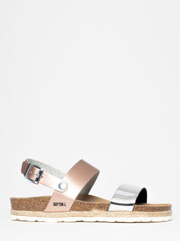 """BAYTON Sandały """"Tone"""" w kolorze jasnoróżowo-srebrnym"""