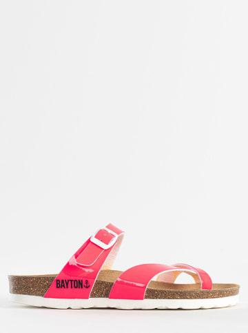 """BAYTON Japonki """"Diane"""" w kolorze różowym"""