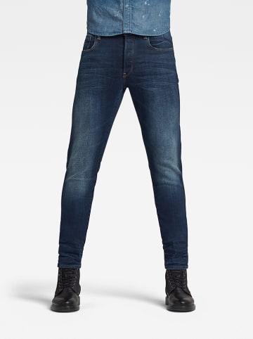 """G-Star Spijkerbroek """"3301"""" - slim fit - blauw"""