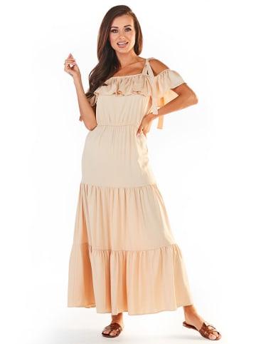 Awama Sukienka w kolorze beżowym