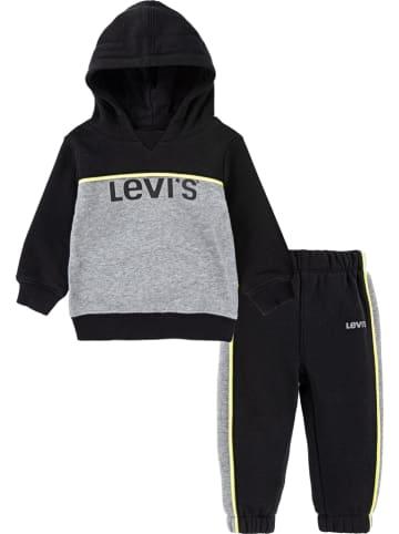 Levi's Kids 2-częściowy zestaw w kolorze czarno-szarym