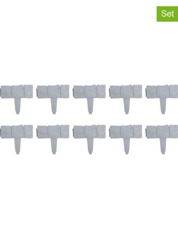 Profigarden 10-delige set: borderranden grijs - (L)25,5 x (B)23 cm