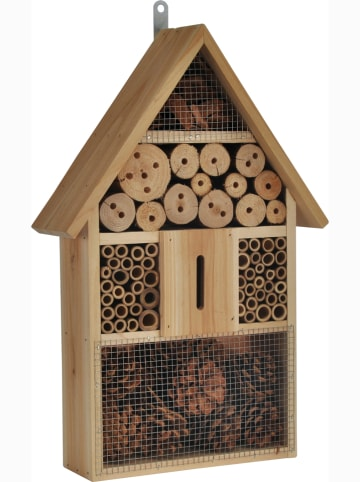 Profigarden Insektenhotel in Hellbraun - (B)31 x (H)48 x (T)10 cm