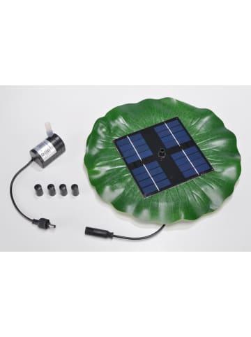 Profigarden Pompka solarna w kolorze zielonym - Ø 28 cm