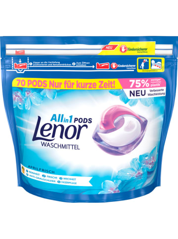 "Lenor Waschmittel-Pods ""Lenor All-in-1 - Aprilfrisch"" - 70x 25,1 g"