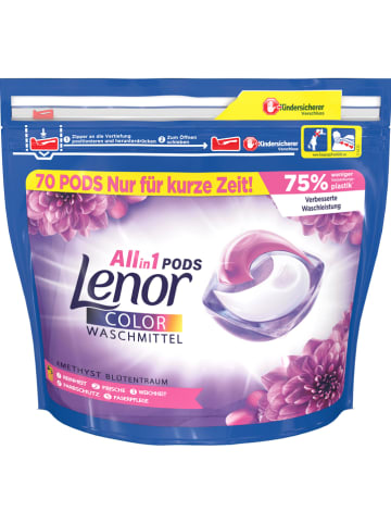 "Lenor Waschmittel-Pods ""Lenor All-in-1 - Blütentraum"" - 70x 25,1 g"