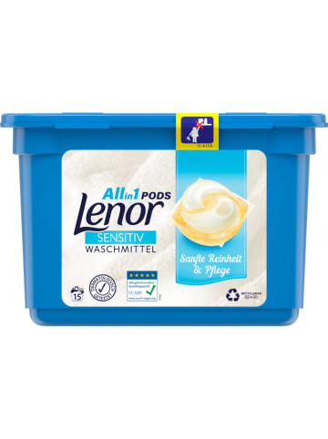 "Lenor Waschmittel-Pods ""Lenor All-in-1 - Sensitiv"" - 15x 24,2 g"
