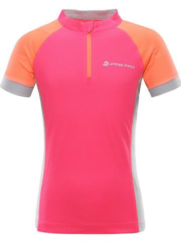 "Alpine Pro Fietsshirt ""Sorano"" neonroze"