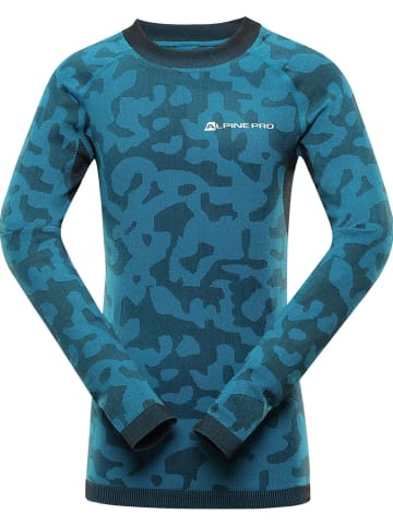 """Alpine Pro Functioneel onderhemd """"Evado"""" blauw"""