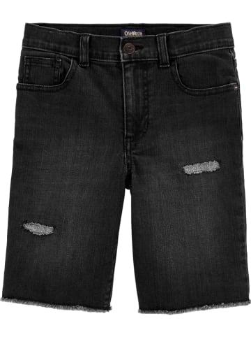 OshKosh Jeansshorts in Schwarz
