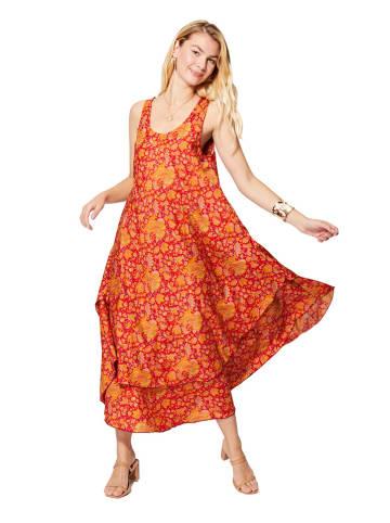 Aller Simplement Sukienka w kolorze pomarańczowym
