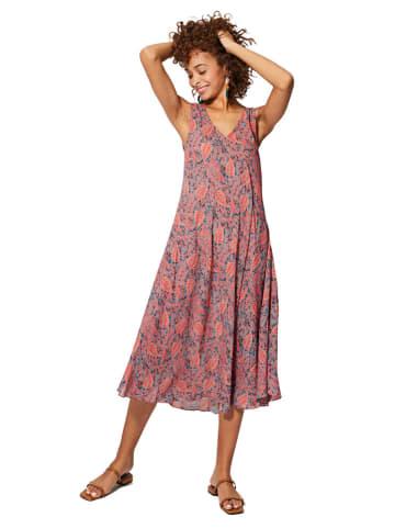 Aller Simplement Sukienka w kolorze ciemnoczerwonym