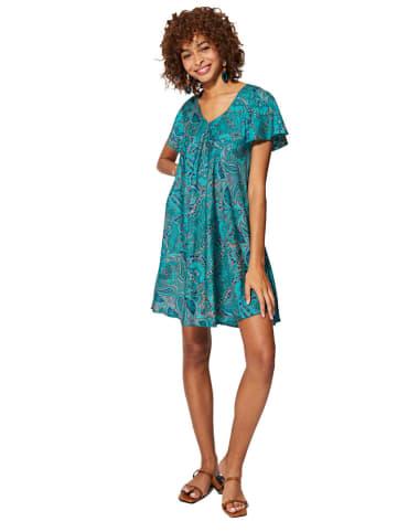 Aller Simplement Sukienka w kolorze turkusowym