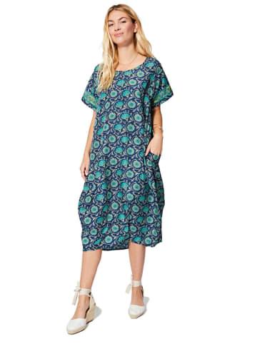 Aller Simplement Sukienka w kolorze turkusowo-niebieskim