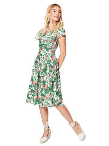 Aller Simplement Sukienka w kolorze zielonym