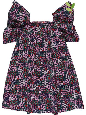 Lilly and Sid Sukienka w kolorze grantowym ze wzorem