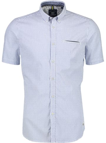 Lerros Koszula - Casual fit - w kolorze błękitnym