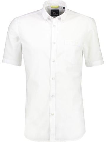 Lerros Koszula - Casual fit - w kolorze białym