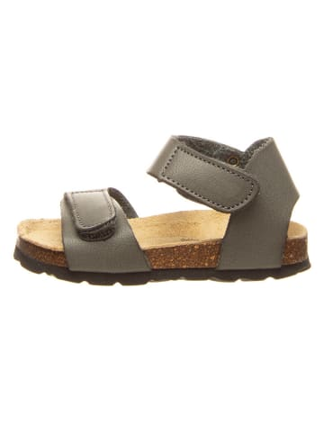 Billowy Sandały w kolorze antracytowym