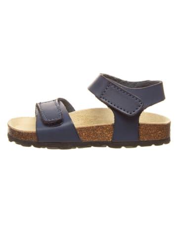 Billowy Sandały w kolorze granatowym