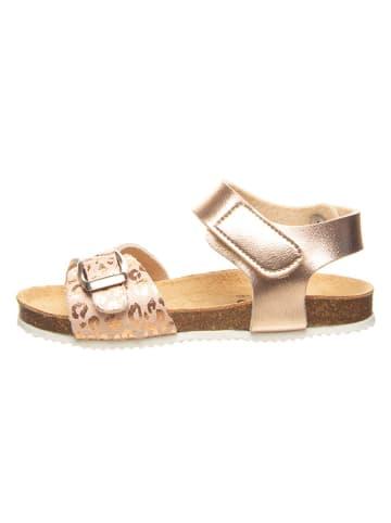 Billowy Sandały w kolorze różowozłotym