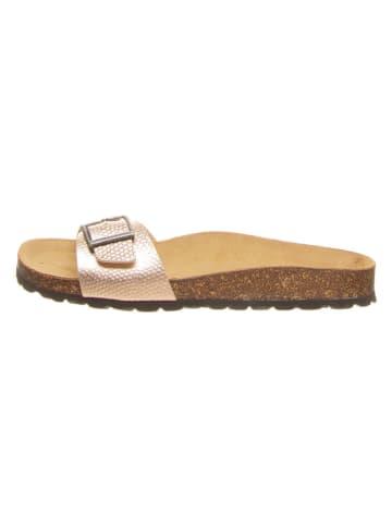 Billowy Slippers goudkleurig