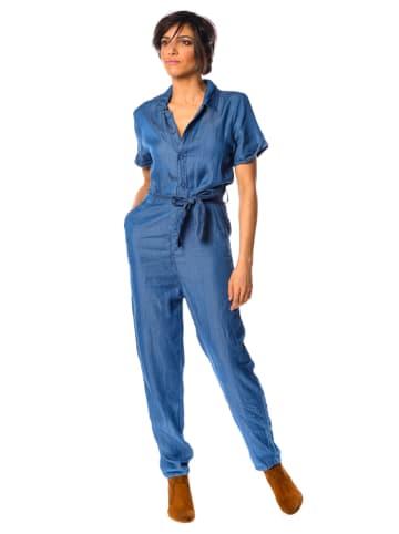 """La Fabrique du Jean Spijkerjumpsuit """"Beverly"""" blauw"""