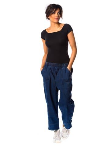 """La Fabrique du Jean Dżinsy """"Clea"""" - Comfort fit - w kolorze niebieskim"""