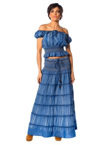 "La Fabrique du Jean Bluzka ""Dina"" w kolorze niebieskim"